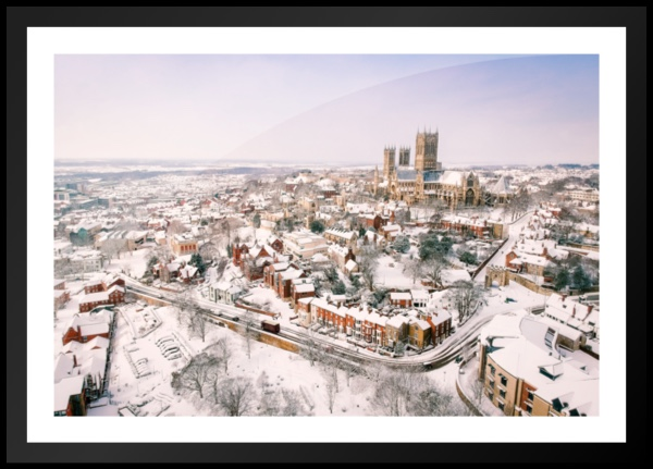 Lincoln In Snow