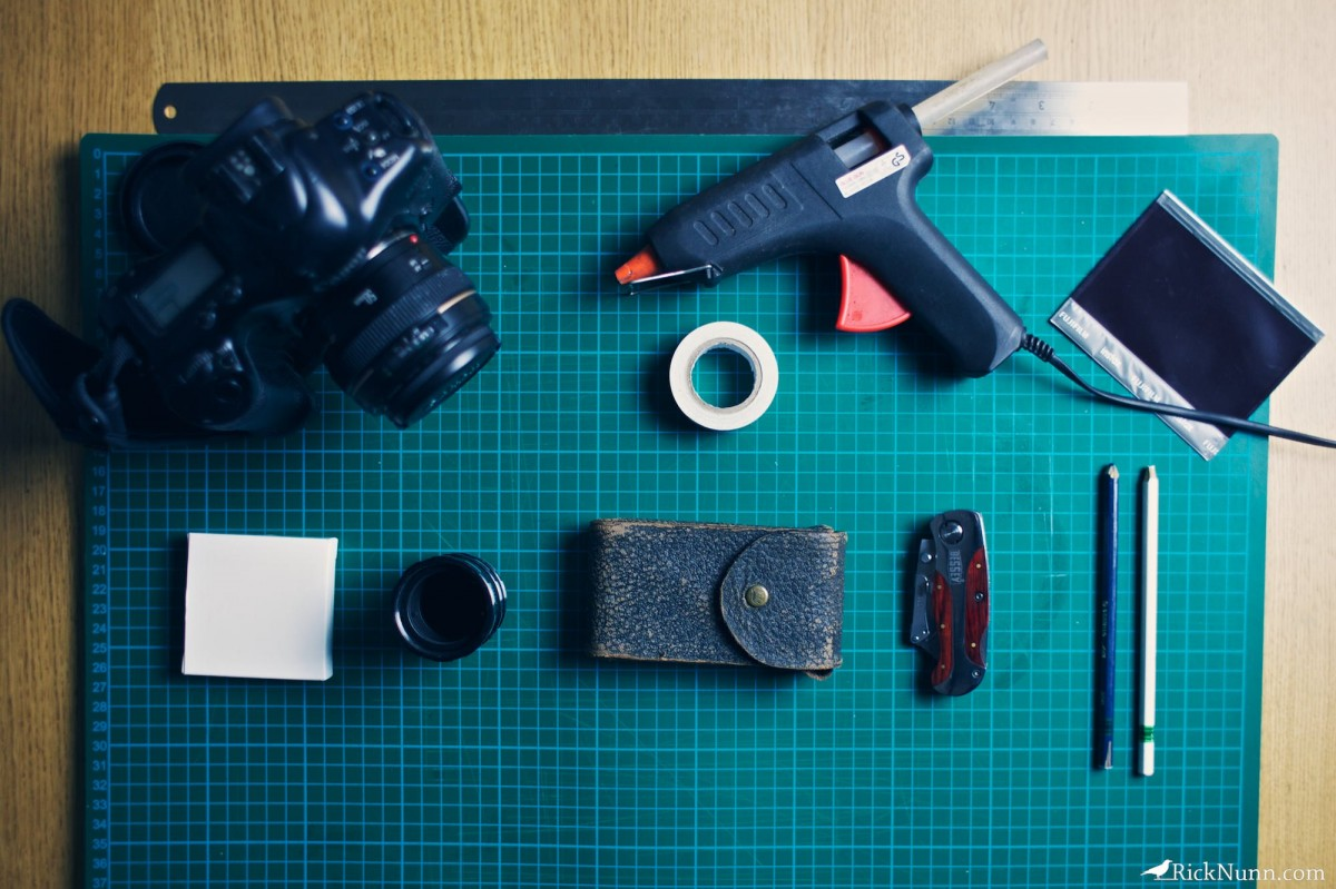 Vest Pocket Kodak As A Canon Lens - Vest Pocket Build Photographed by Rick Nunn