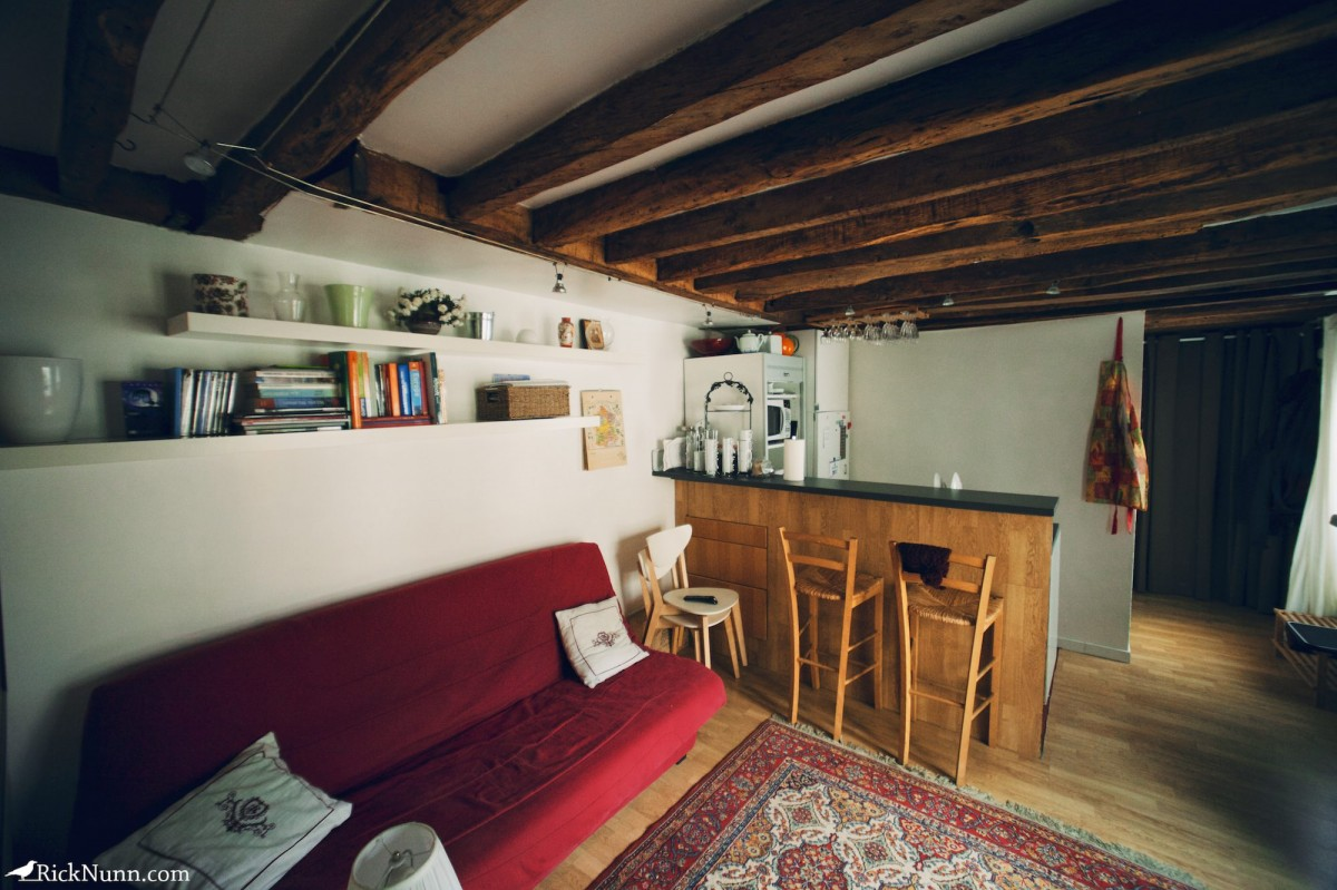 Paris - Our Apartment Photographed by Rick Nunn