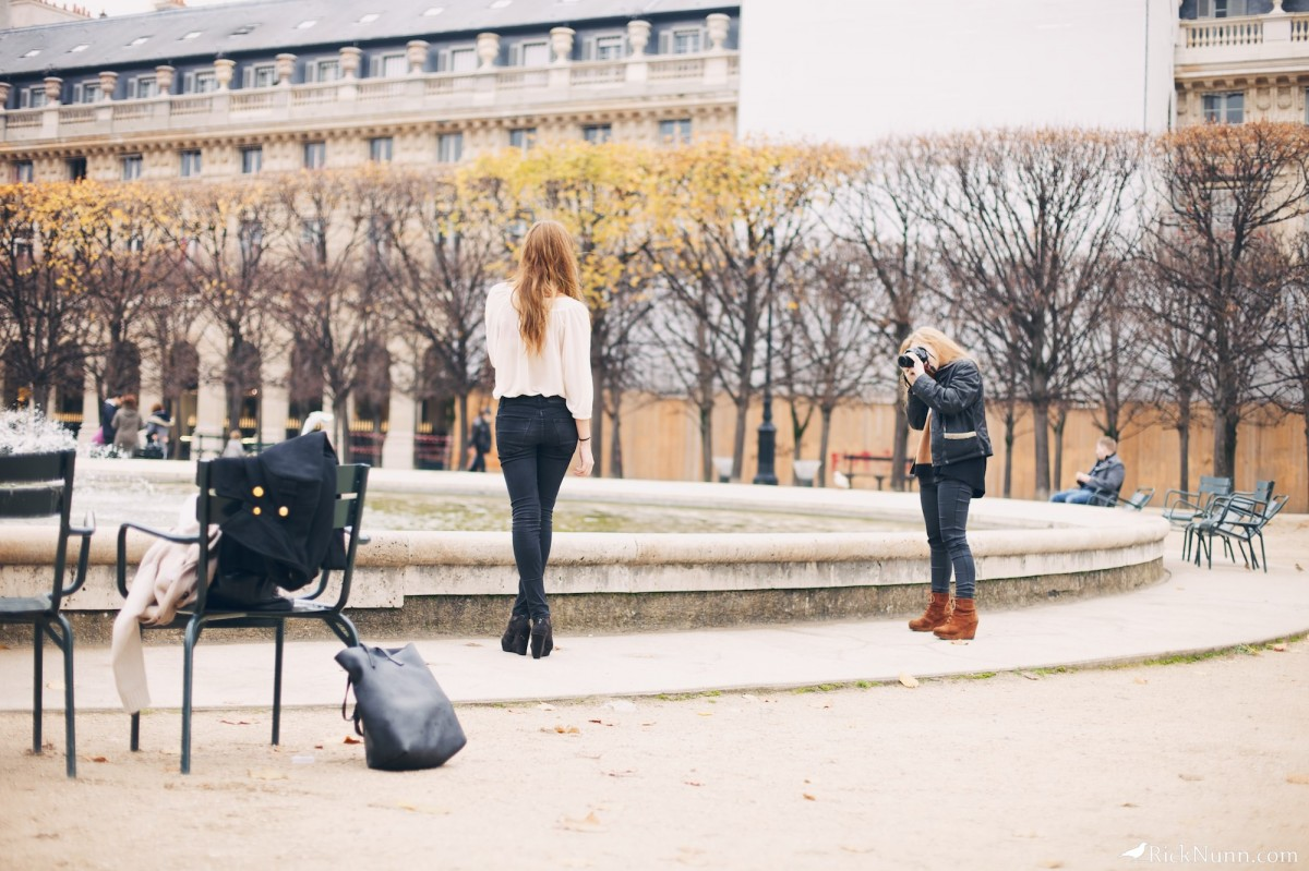 Paris - Photo shoot Photographed by Rick Nunn