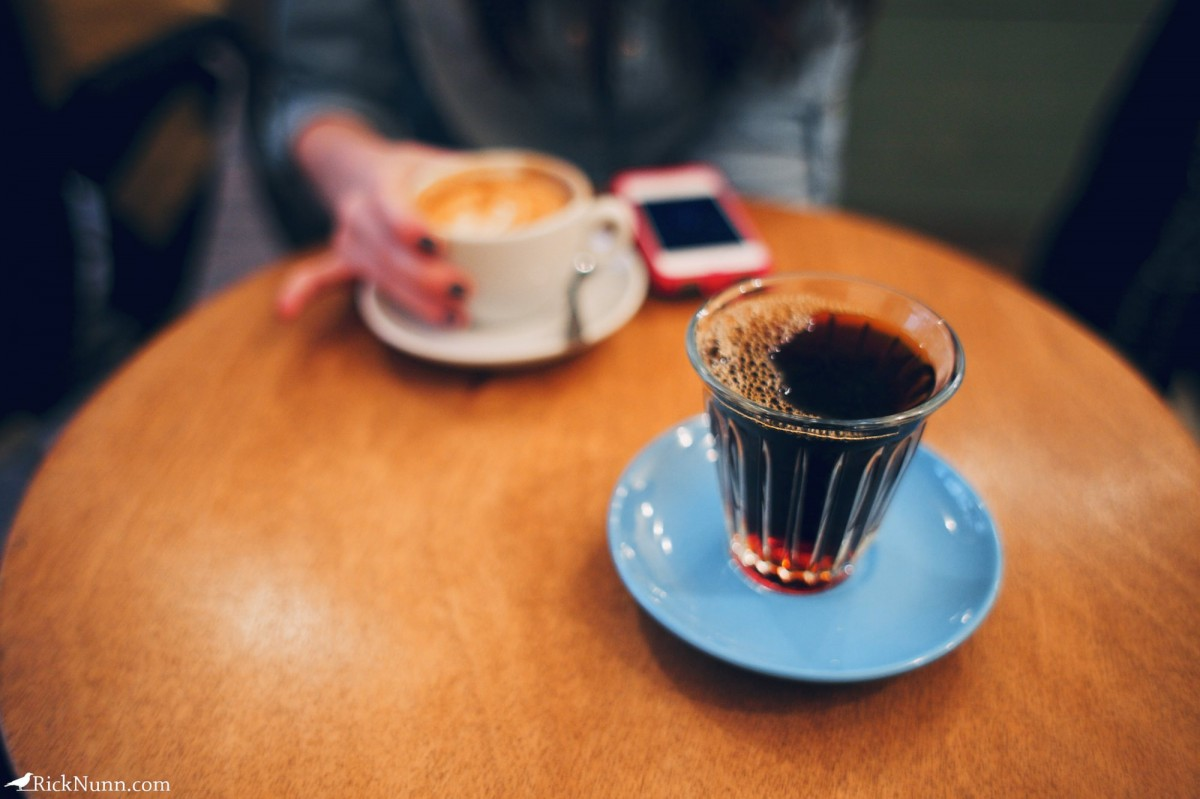 Paris - COFFEE! Photographed by Rick Nunn