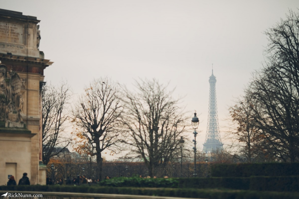 Paris - The tower in the distance Photographed by Rick Nunn