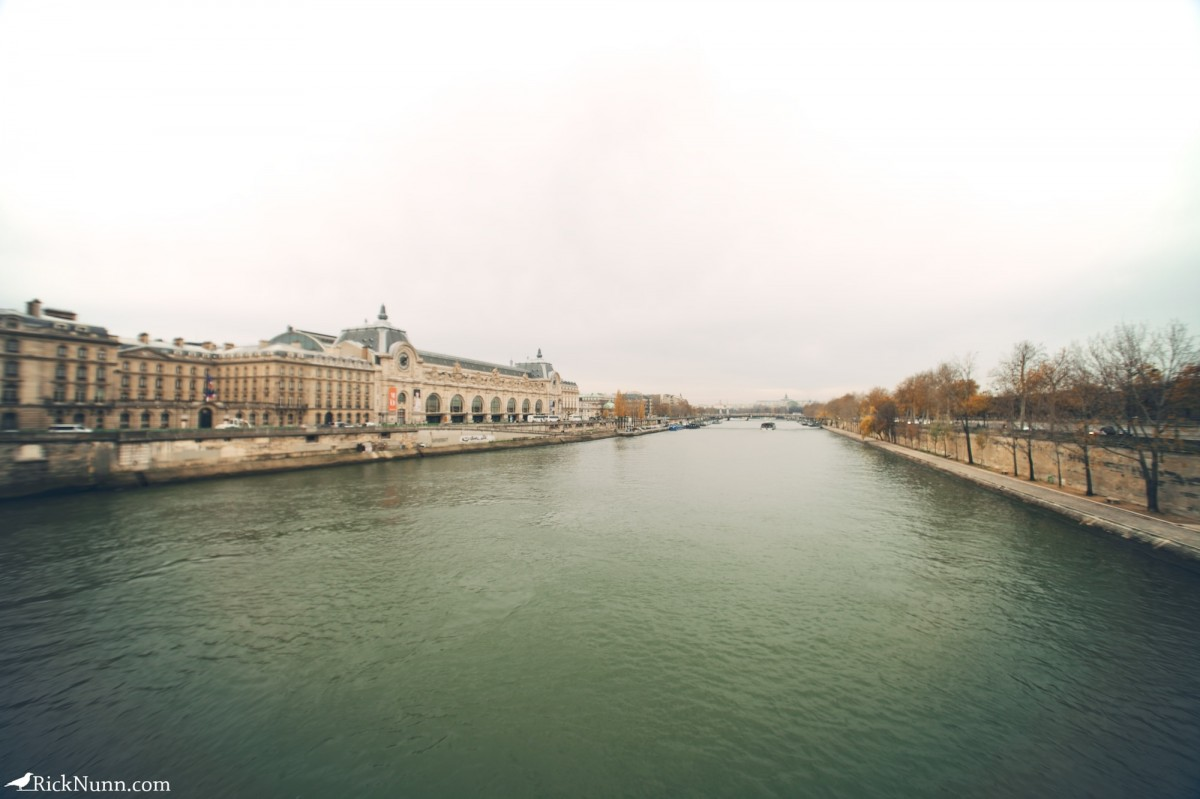 Paris - The Seine Photographed by Rick Nunn