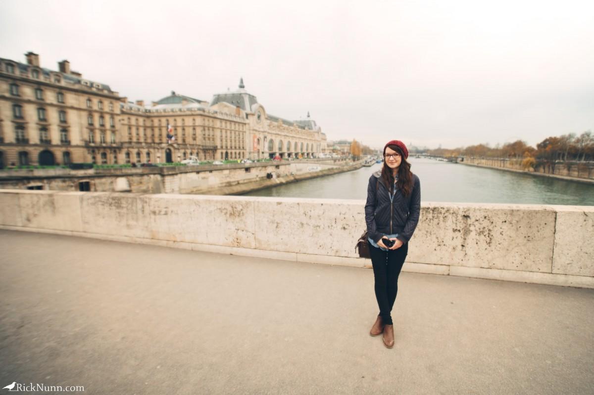 Paris - Sparrow on the Seine Photographed by Rick Nunn