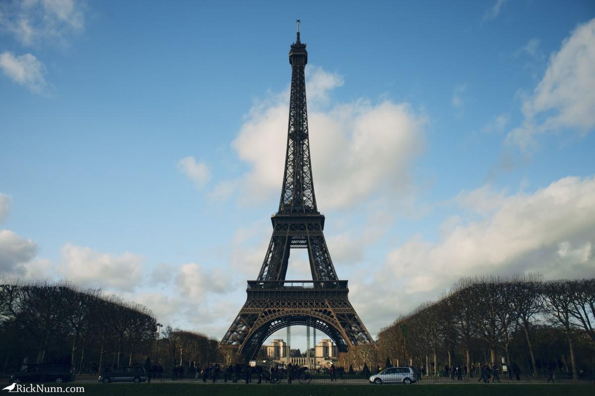 Paris - The Eiffel Tower Photographed by Rick Nunn