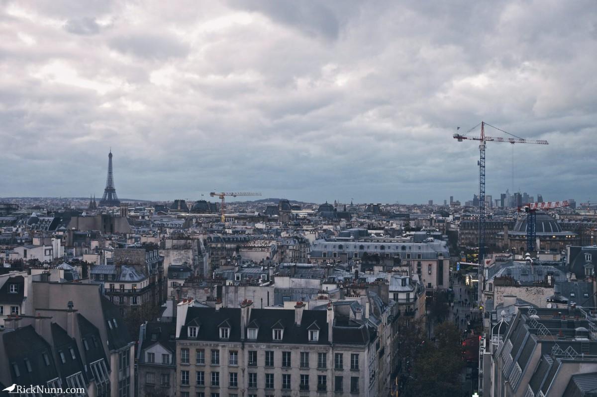 Paris - Paris City Scape Photographed by Rick Nunn
