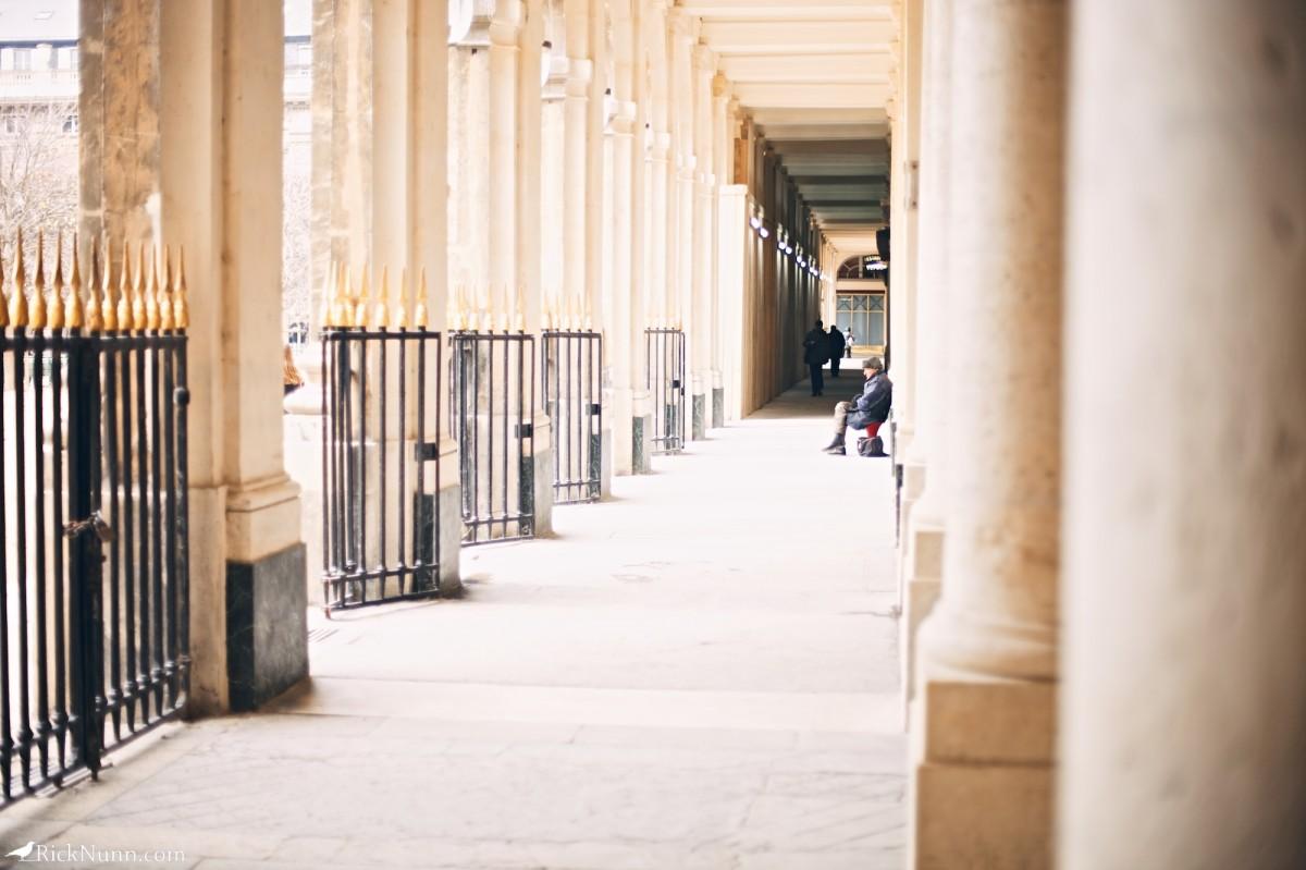 Paris - Street dude Photographed by Rick Nunn