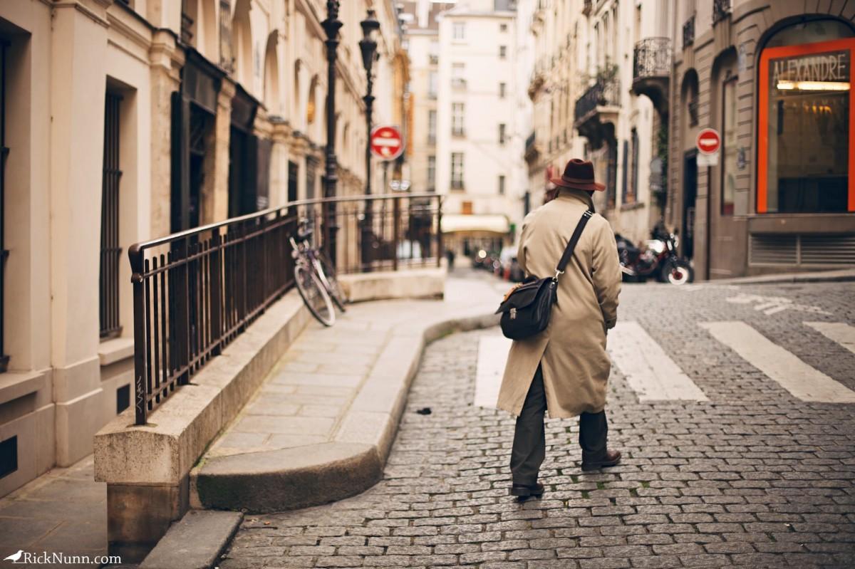 Paris - Paris man Photographed by Rick Nunn