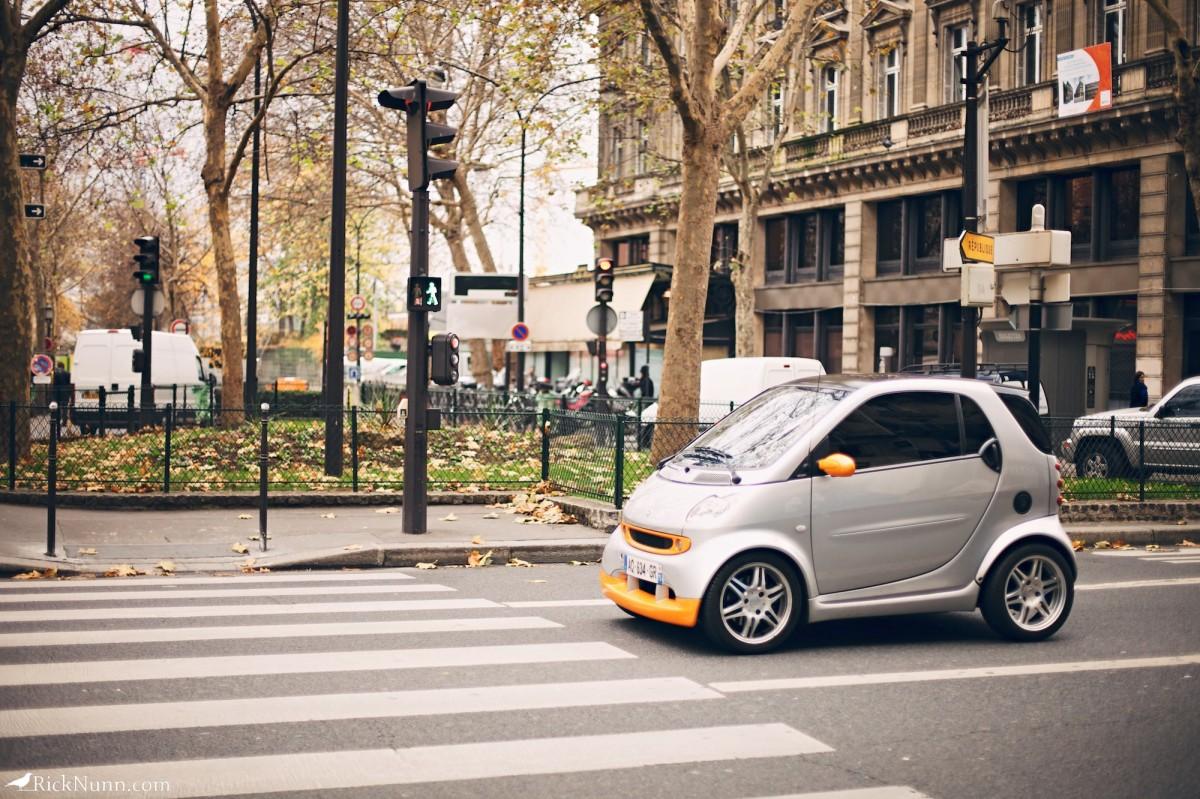 Paris - Smart Car Photographed by Rick Nunn