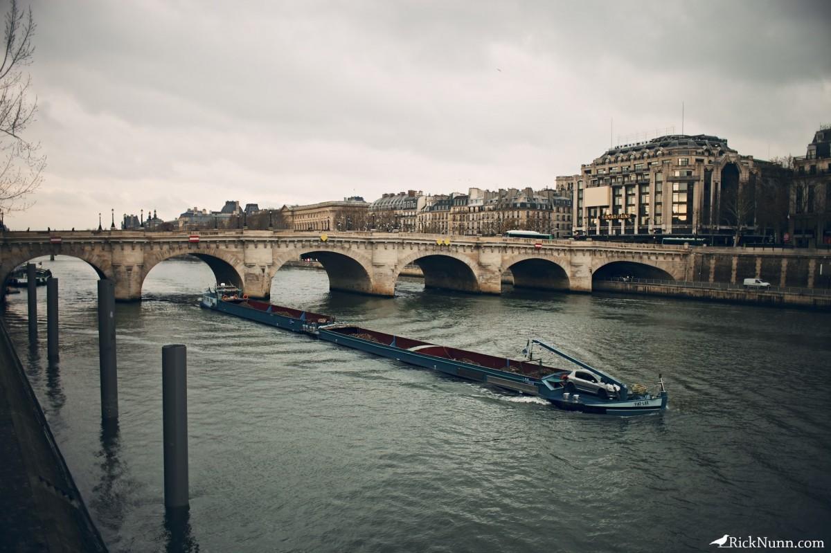 Paris - Paris Bridge Photographed by Rick Nunn