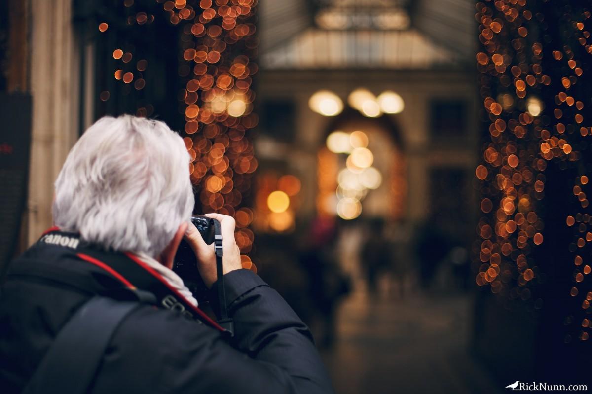 Paris - Photographer Photographed by Rick Nunn