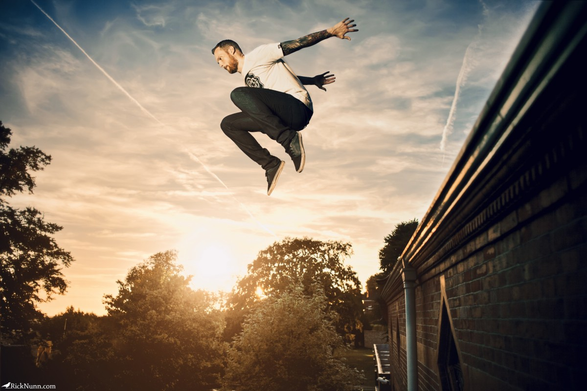Celestial Leap - Celestial Leap Photographed by Rick Nunn