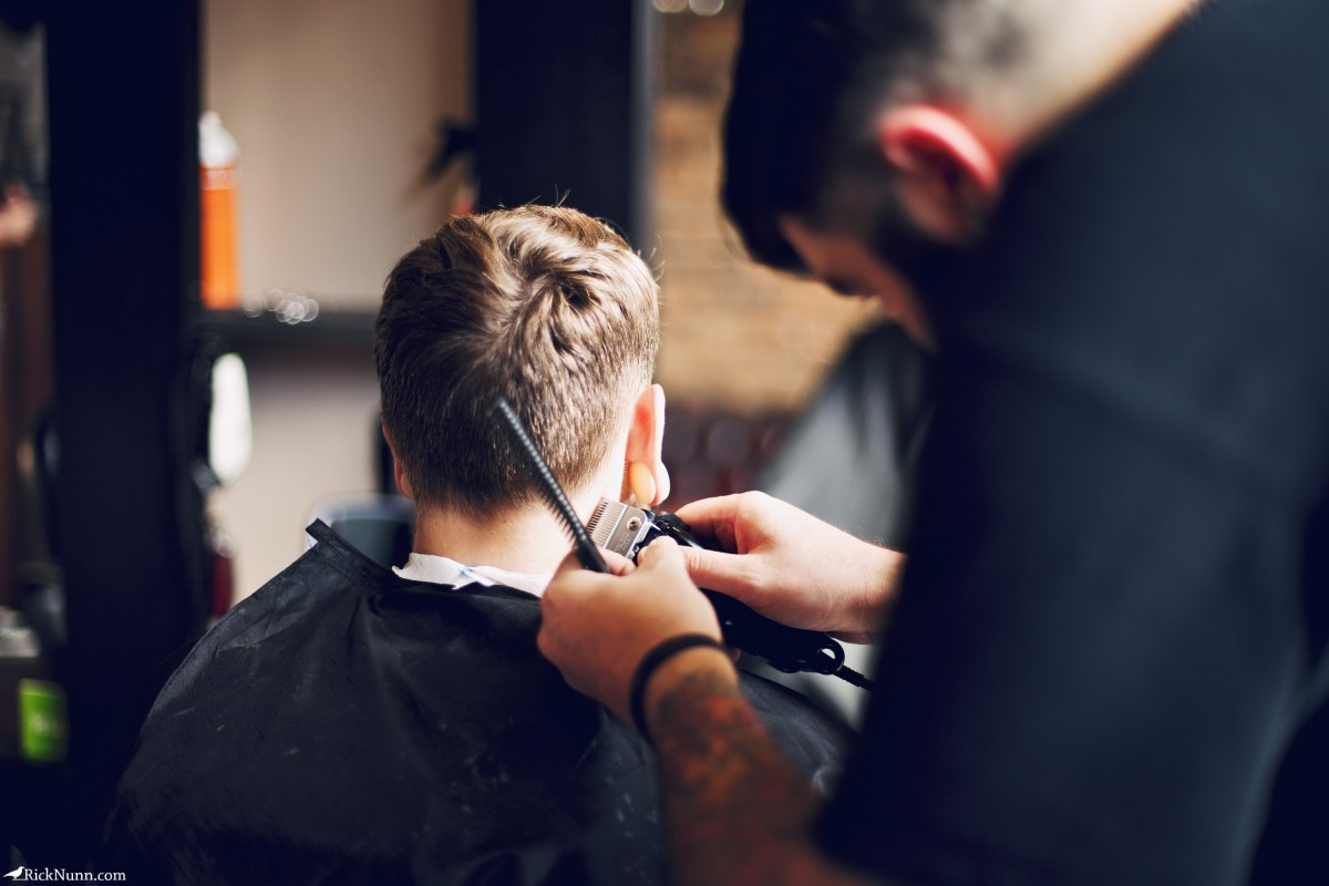 The Weird & Wonderful × North West Barber Co - North West Barber Co 3 Photographed by Rick Nunn