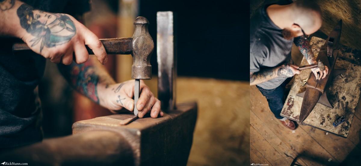 Honest Thomas — Mechanic turned Artisan Maker - Honest-Thomas-4 Photographed by Rick Nunn