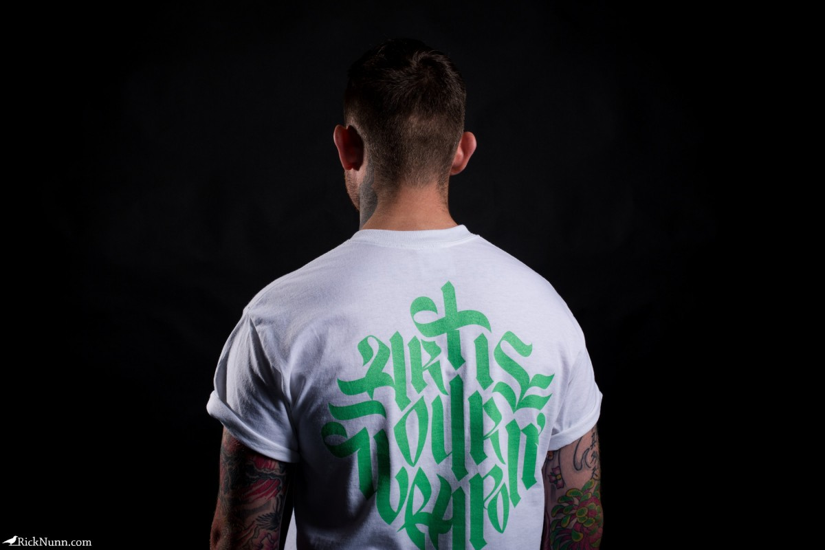 AnyForty — Art Is Our Weapon Lookbook - AnyForty - Art Is Our Weapon - 20 Photographed by Rick Nunn
