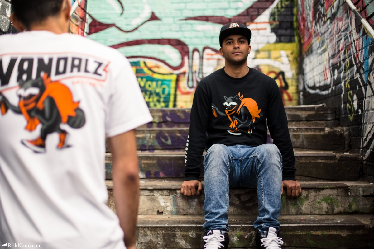 AnyForty Vandalz Capsule Collection Lookbook — Autumn 2016 - anyforty-vandalz-capsule-collection-14 Photographed by Rick Nunn