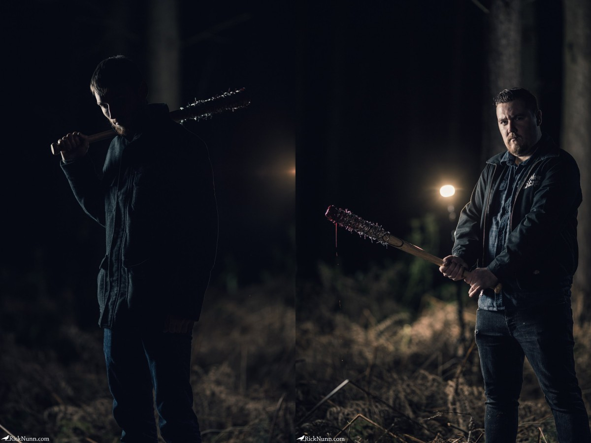 Walking Dead Cosplay – Negan - Negan Walking Dead Cosplay - Steve and Matt Photographed by Rick Nunn