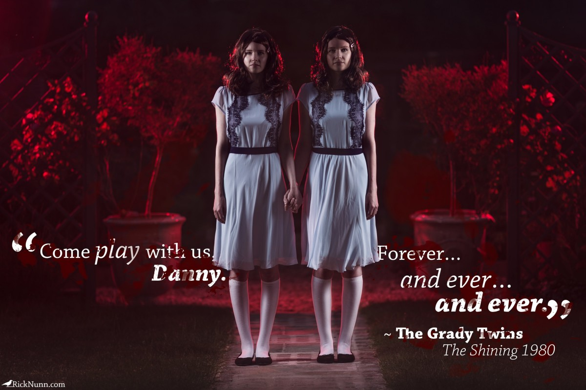 The Shining Cosplay — Play With Us - The Shining Cosplay 1 - Quoto Photographed by Rick Nunn