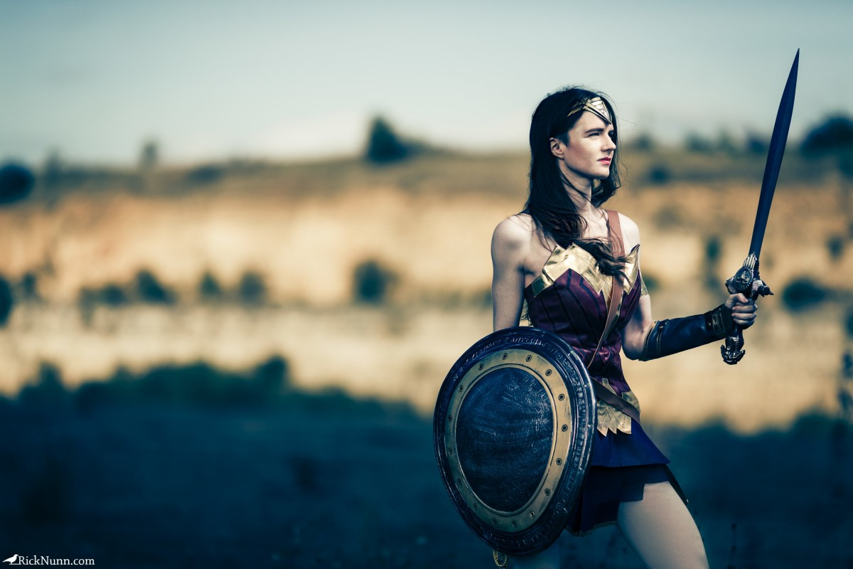 Wonder Woman Cosplay — I Will Fight - Wonder Woman Cosplay 2 Photographed by Rick Nunn
