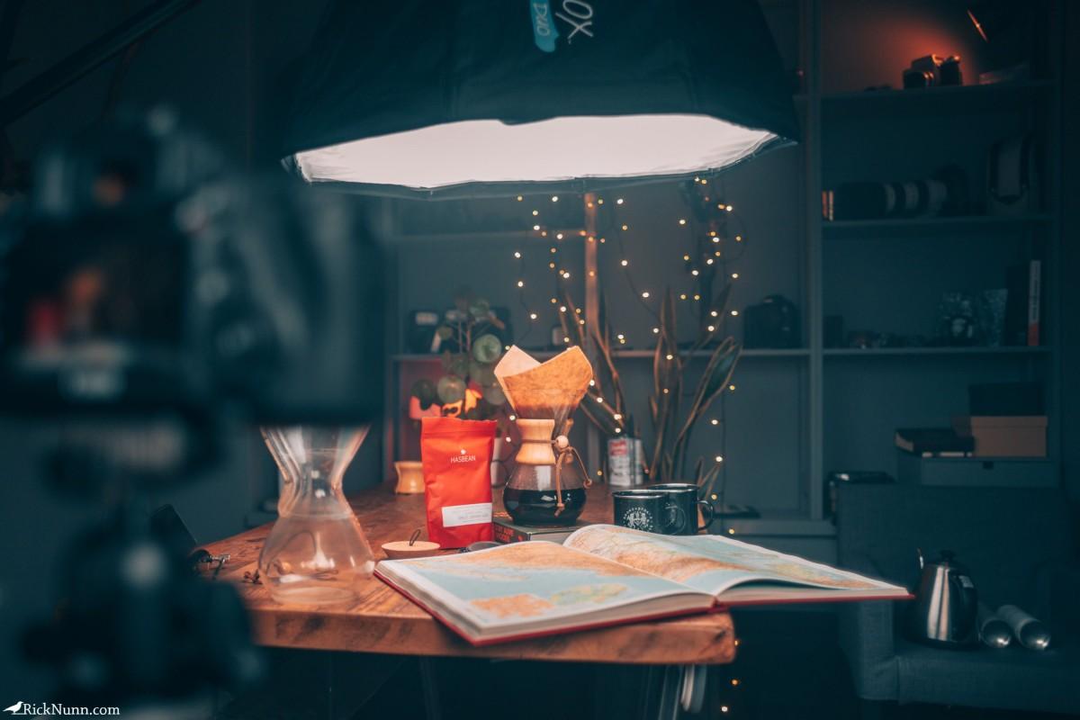 Why you should take 100 photos of a mug… - 100 Mugs - Setup Photographed by Rick Nunn