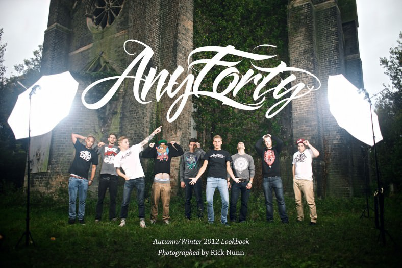 AnyForty Autumn Winter Lookbook 2012