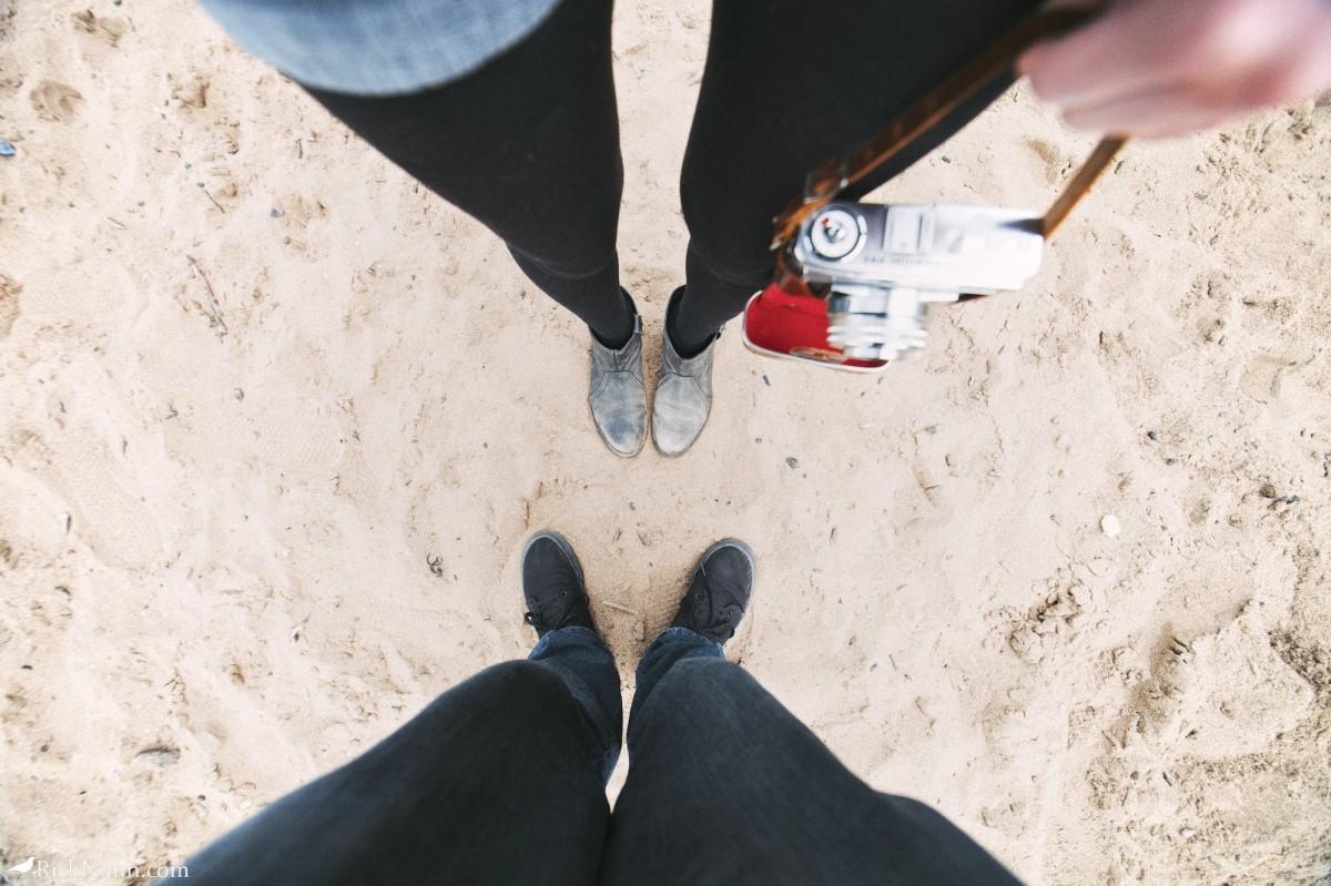 Whitby 2012 - 09 Sandy Feet Photographed by Rick Nunn
