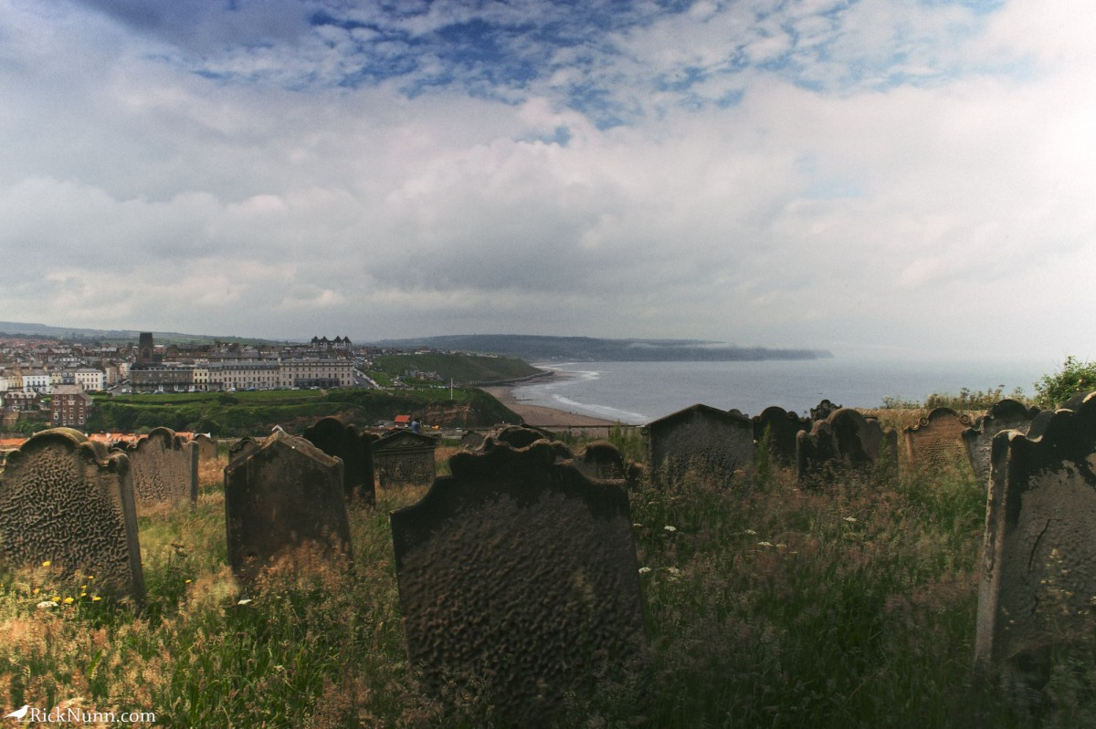 Whitby 2012 - 13 Graves And Bay Photographed by Rick Nunn