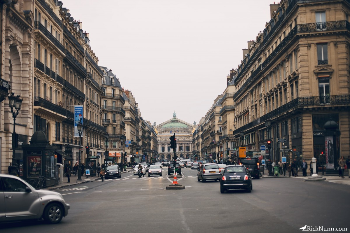 Paris - Paris street Photographed by Rick Nunn