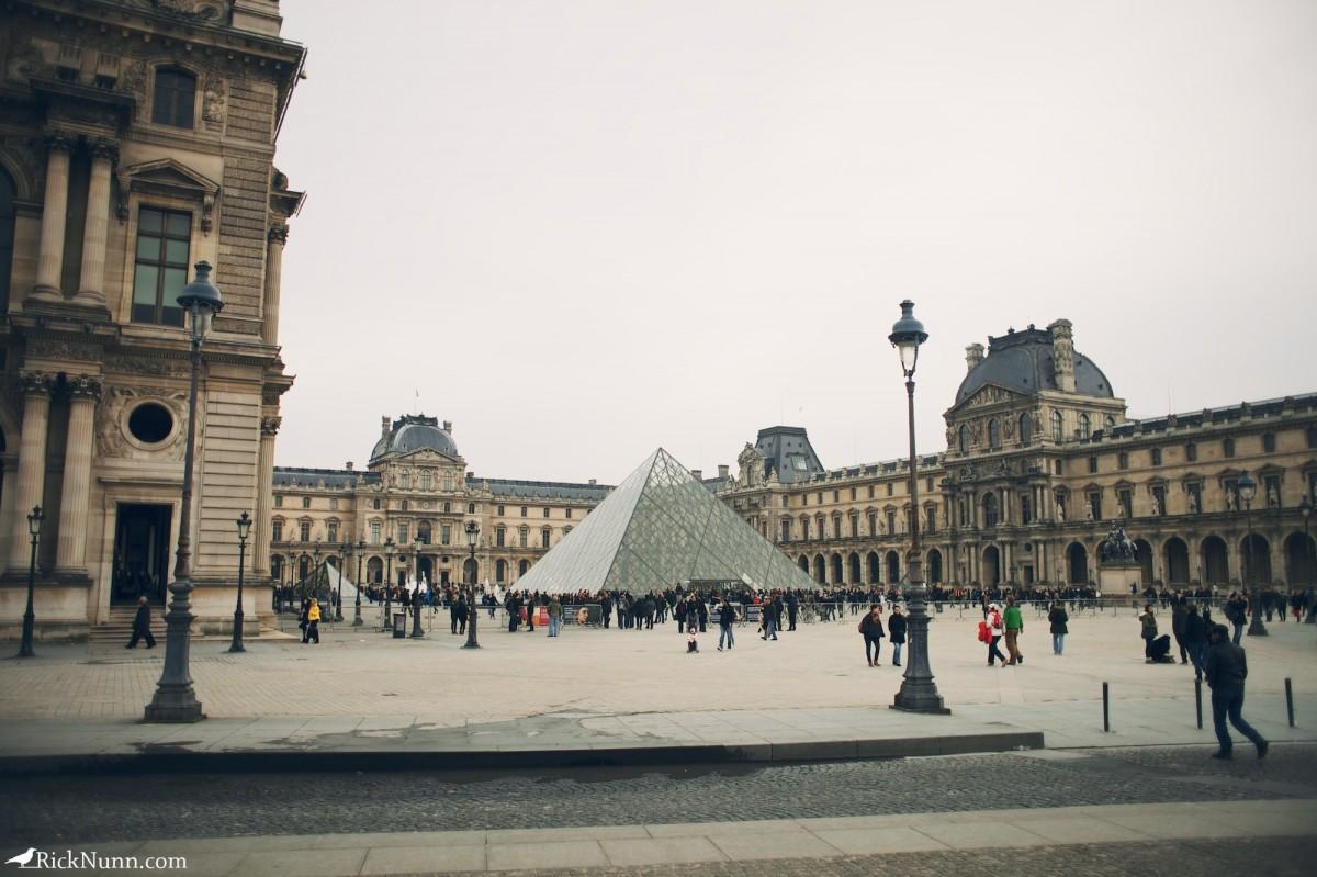 Paris - The Louvre Photographed by Rick Nunn