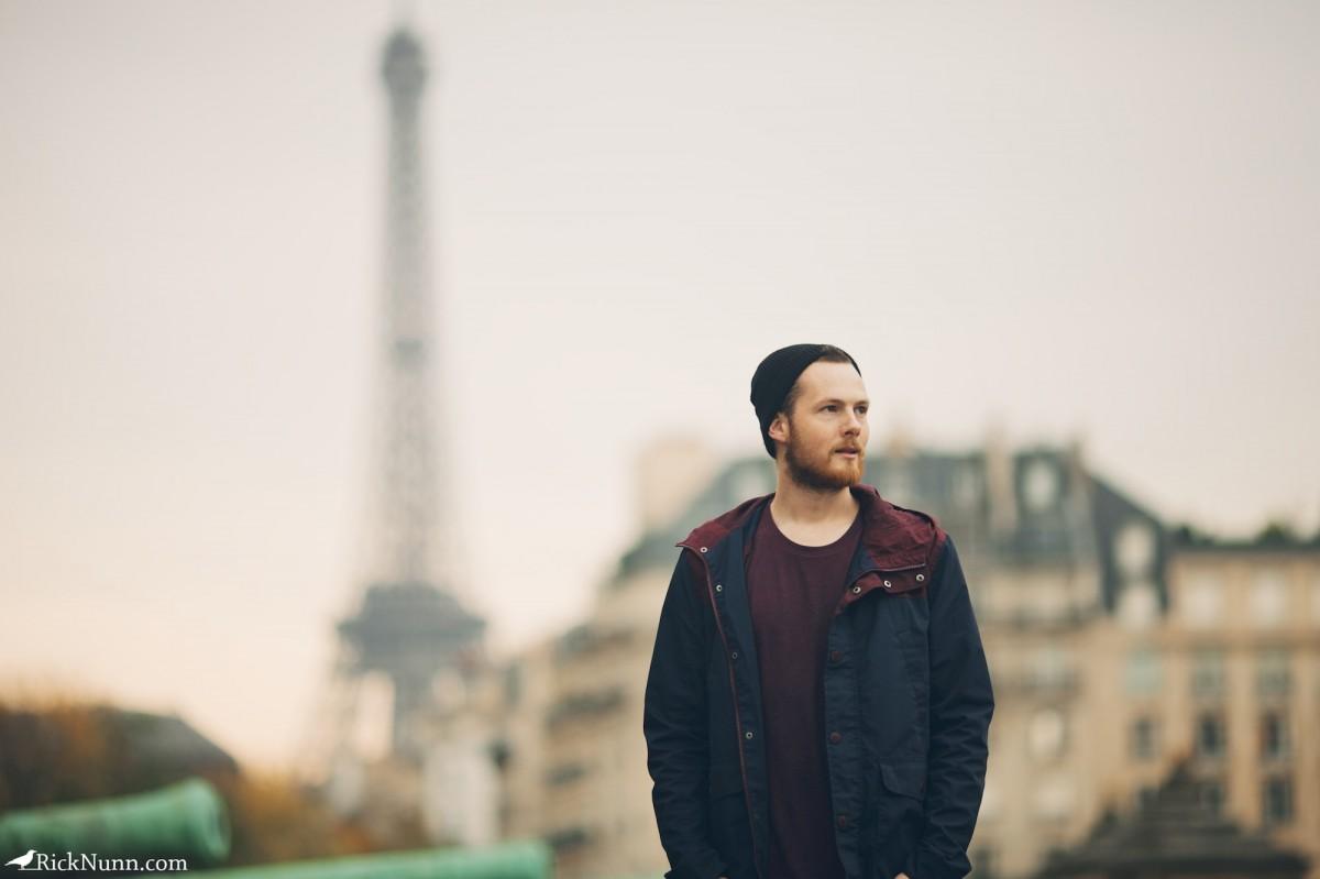 Paris - Rick Nunn & The Tower Photographed by Rick Nunn