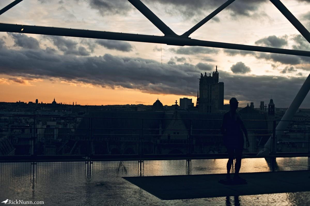 Paris - Paris Sunset Photographed by Rick Nunn