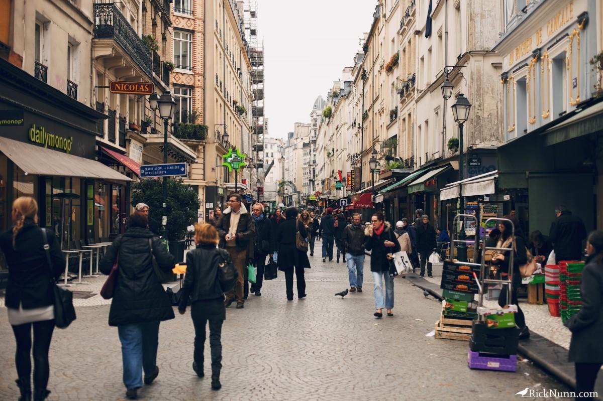 Paris - Paris Streets Photographed by Rick Nunn