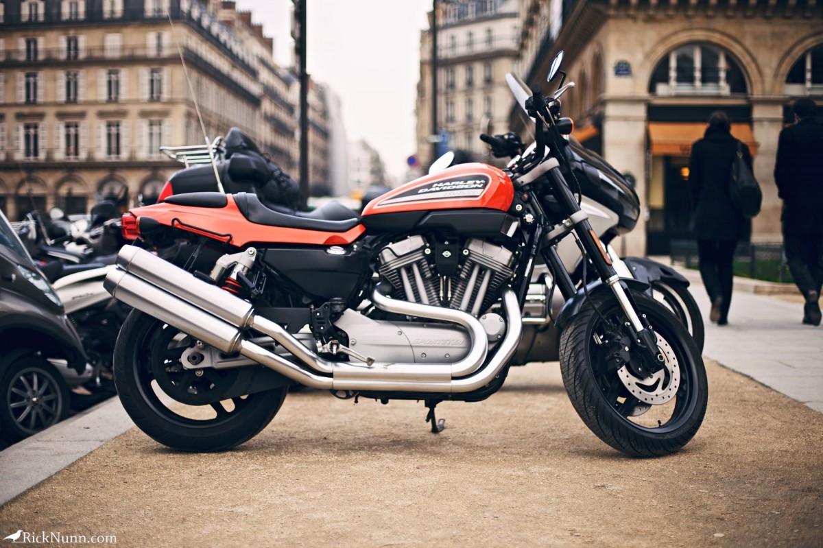 Paris - Nice bike Photographed by Rick Nunn