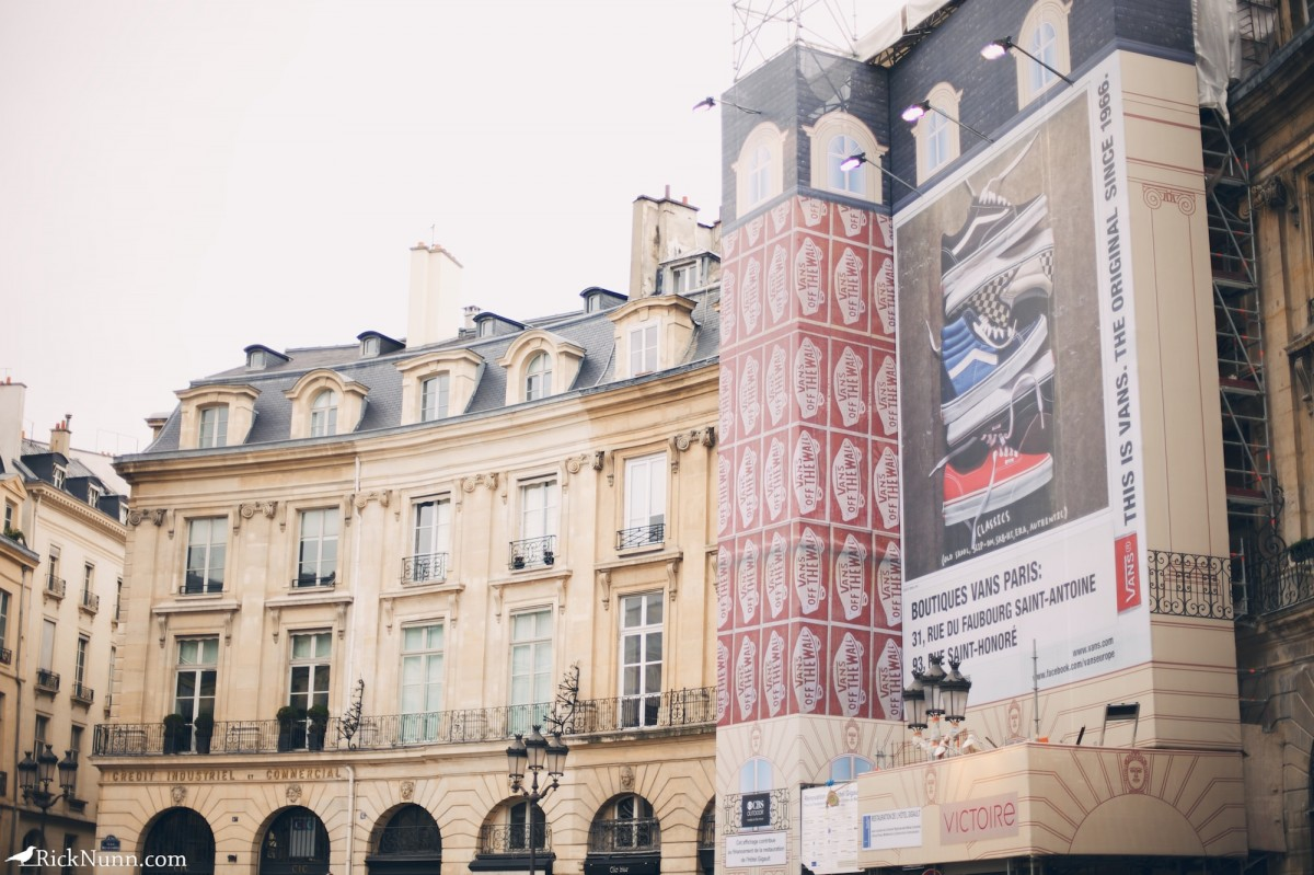 Paris - Vans On The Wall Photographed by Rick Nunn