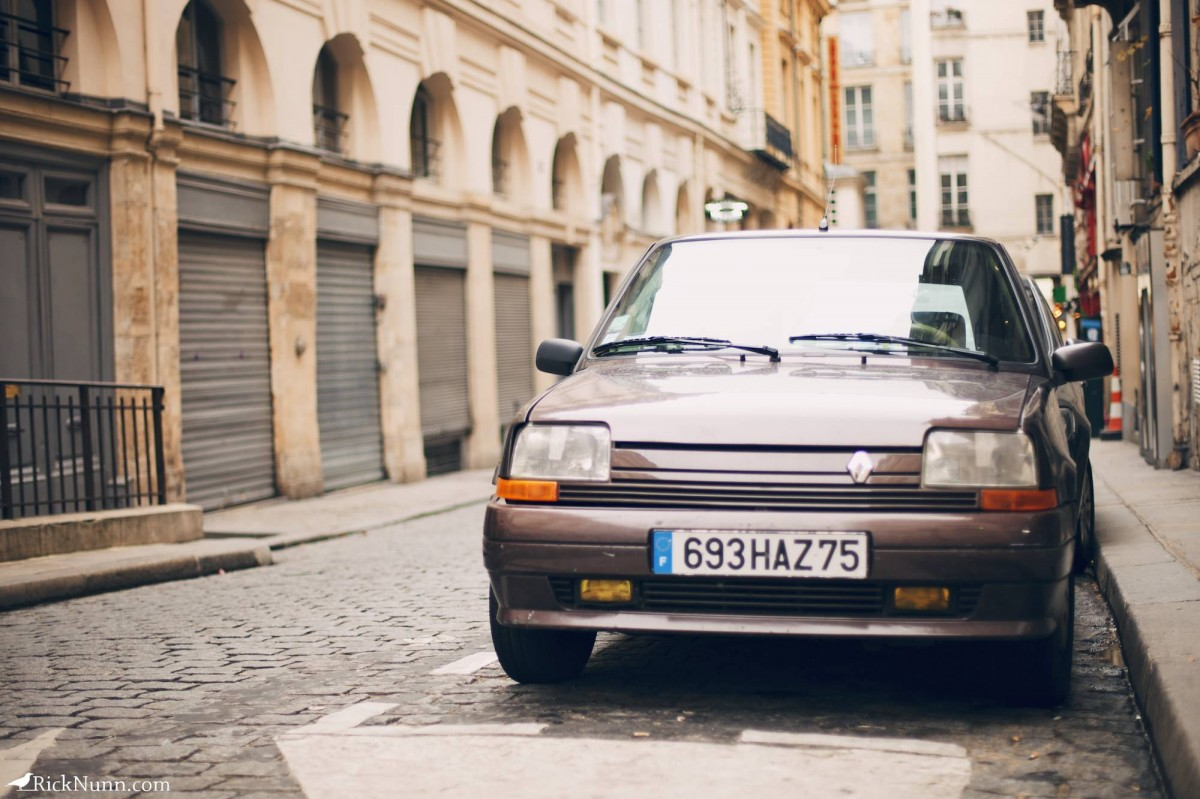 Paris - Another classic French car Photographed by Rick Nunn