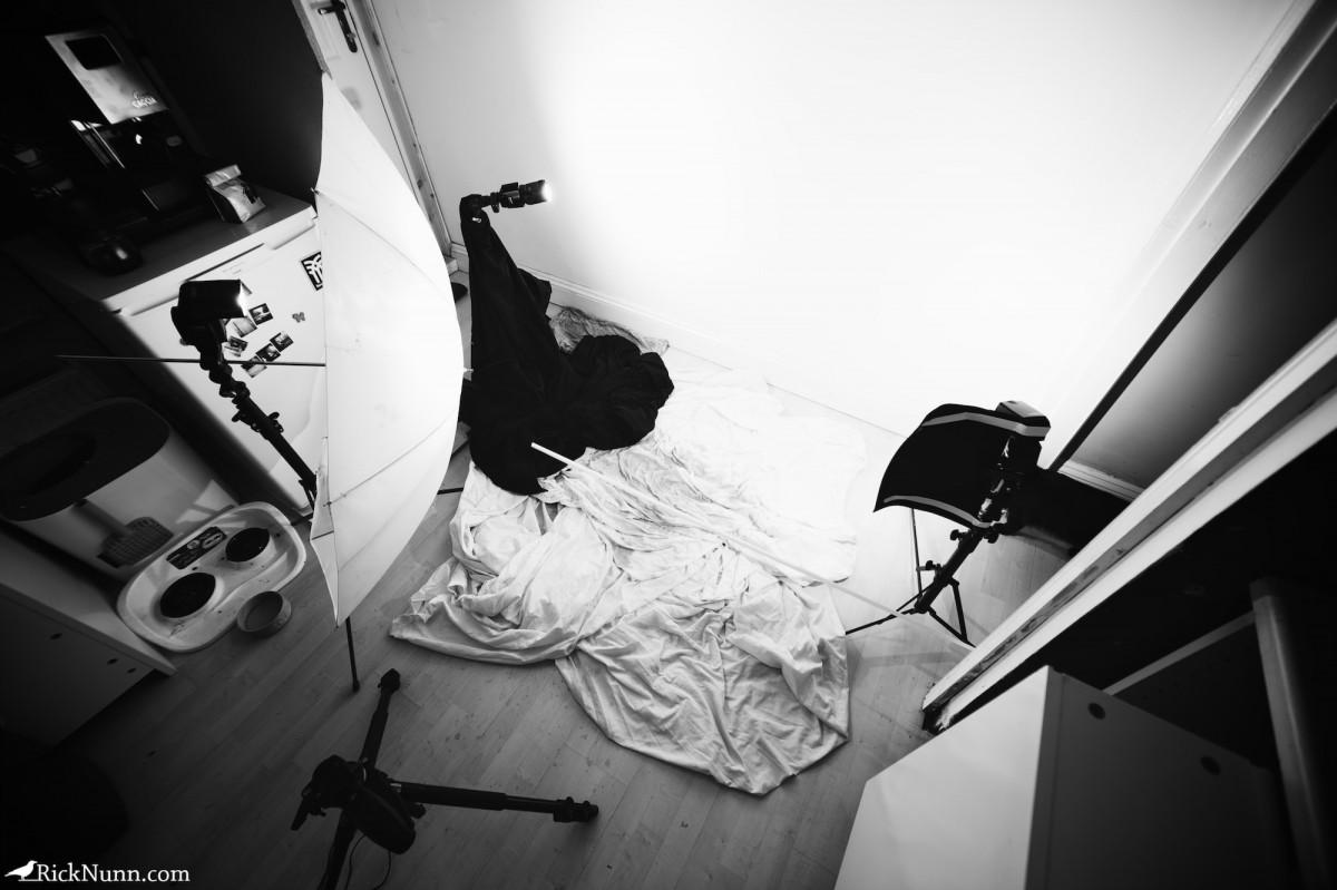 Oh Shit - Oh Shit Setup Photographed by Rick Nunn