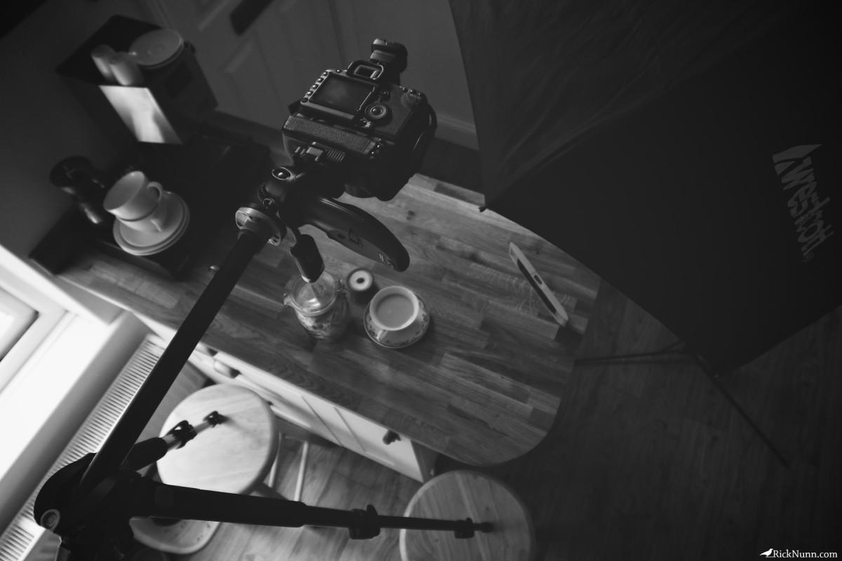 I Drink Coffee, She Takes Tea - I Drink Coffee She Takes Tea Setup Photographed by Rick Nunn