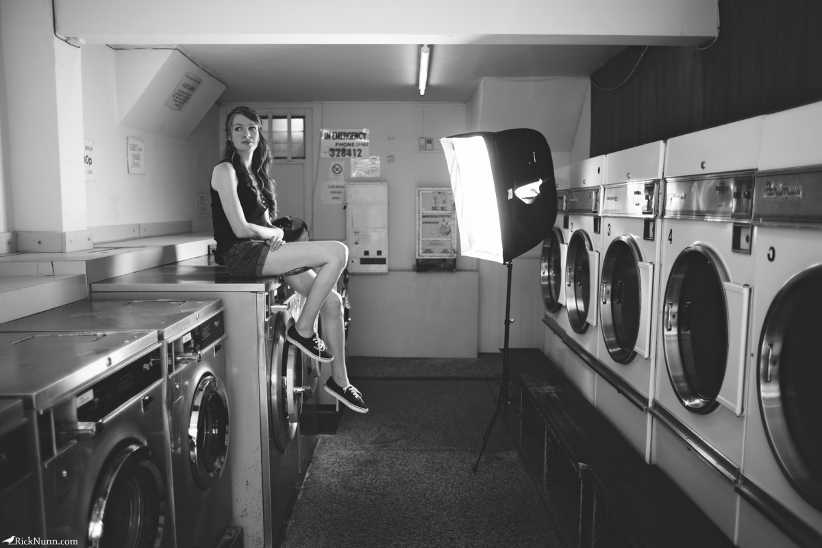 The Laundrette - The Laundrette Behind The Scenes Photographed by Rick Nunn