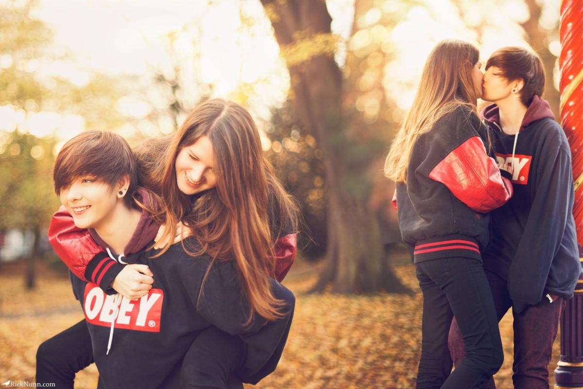 Rosie & Robyn - Rosie & Robyn Photographed by Rick Nunn
