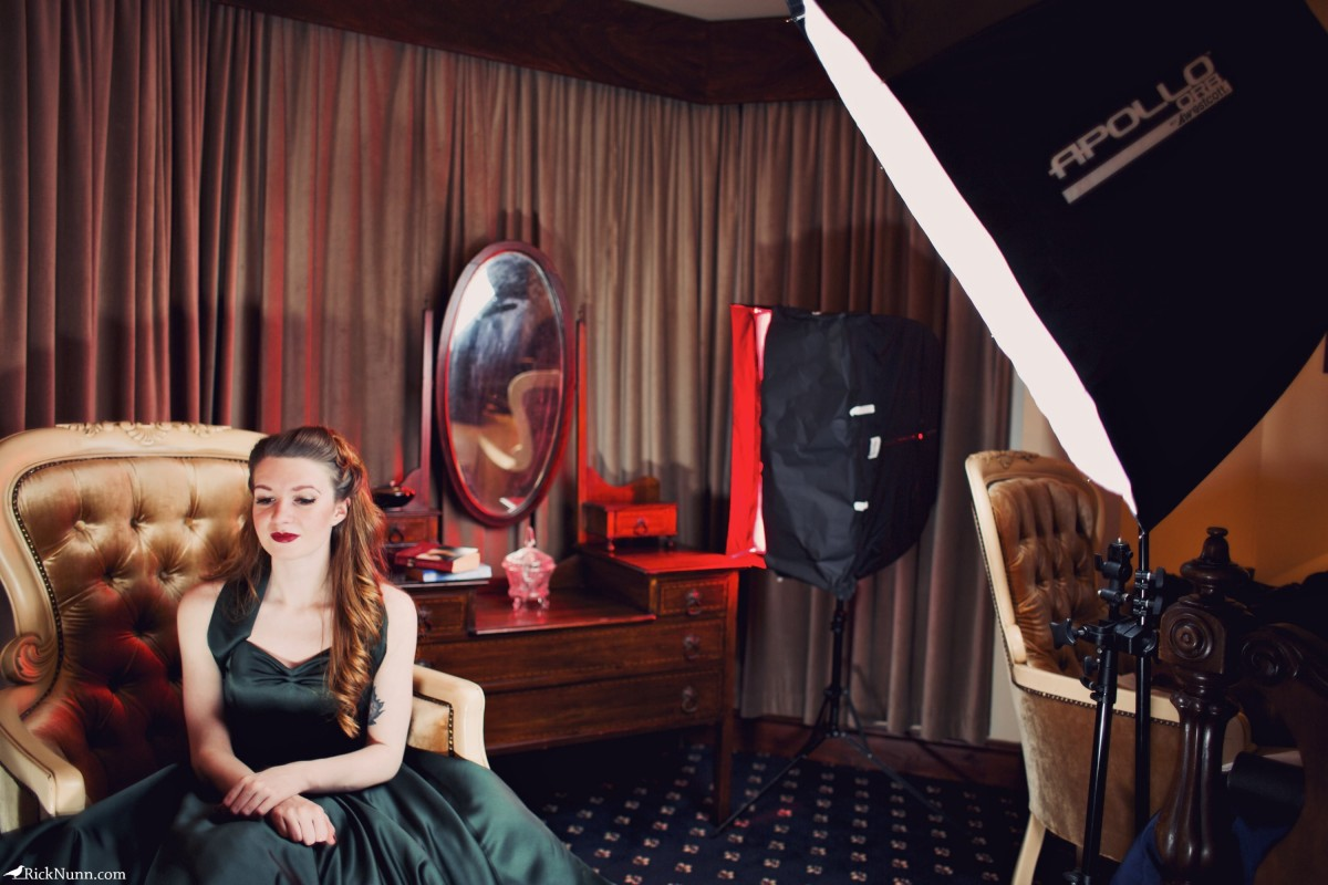 Miss Scarlet - Scarlet Setup Photographed by Rick Nunn