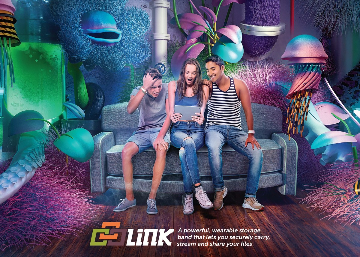 Link - Link x Velvet Spectrum x Rick Nunn Photographed by Rick Nunn