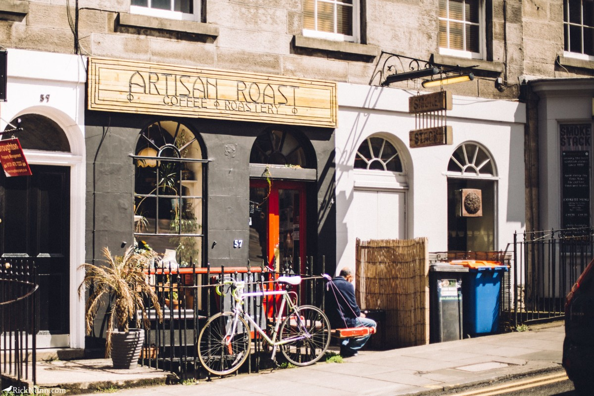 Edinburgh in May - 05-Coffee-01-RL4B6811 Photographed by Rick Nunn