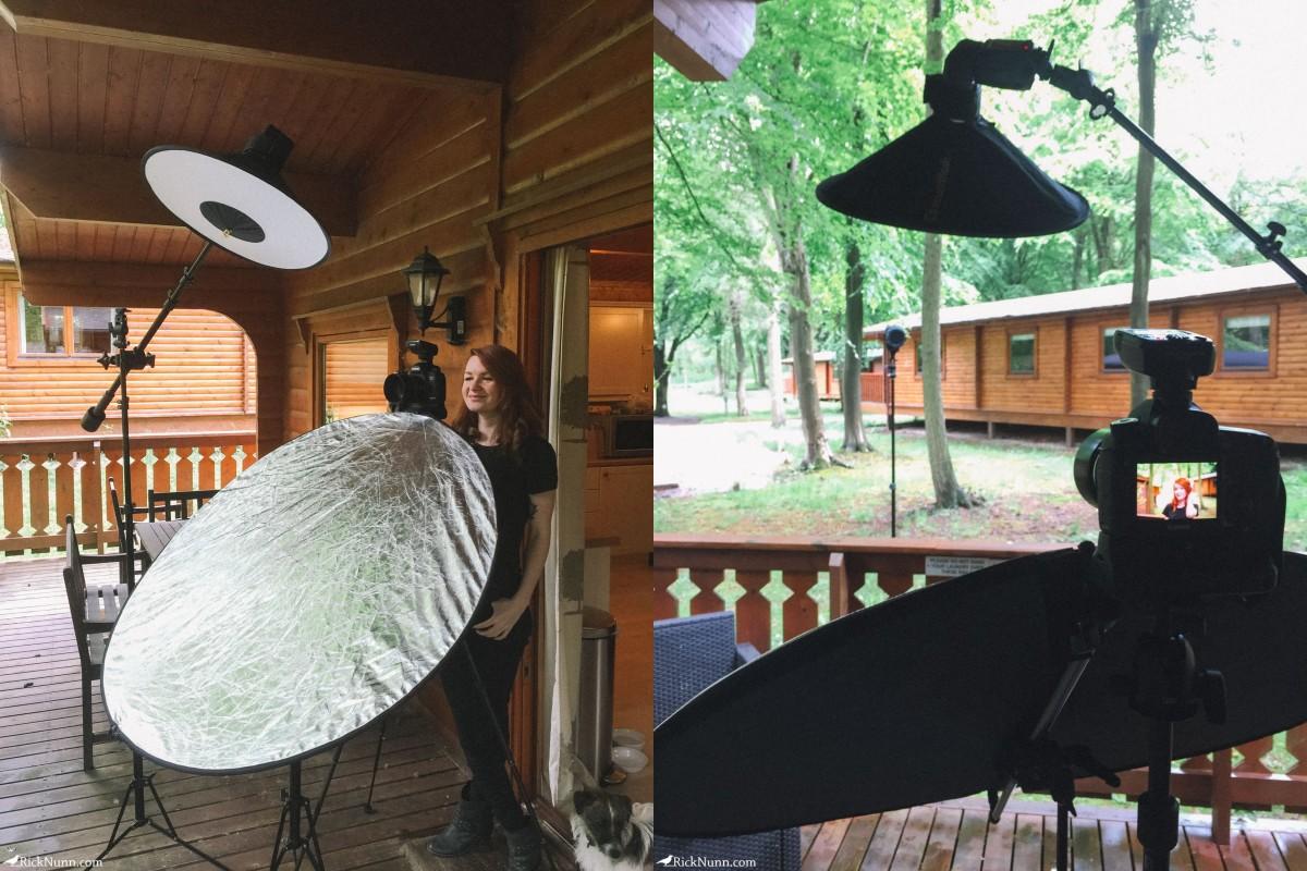 My Sparrow - Setup Photographed by Rick Nunn