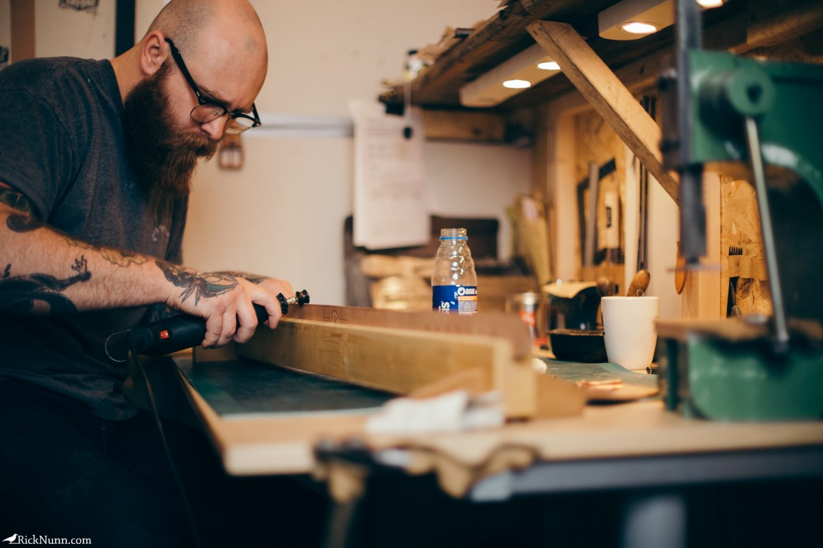Honest Thomas — Mechanic turned Artisan Maker - Honest-Thomas-12 Photographed by Rick Nunn
