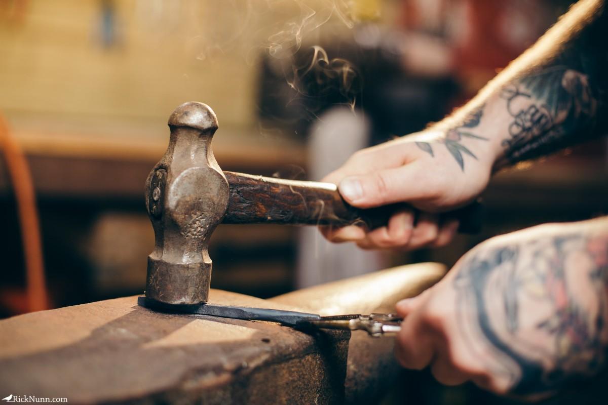 Honest Thomas — Mechanic turned Artisan Maker - Honest-Thomas-2 Photographed by Rick Nunn