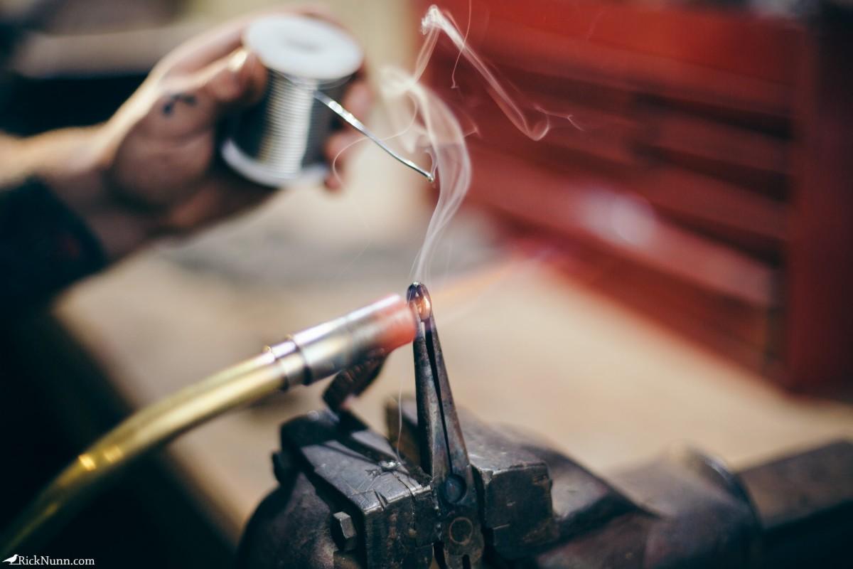 Honest Thomas — Mechanic turned Artisan Maker - Honest-Thomas-9 Photographed by Rick Nunn