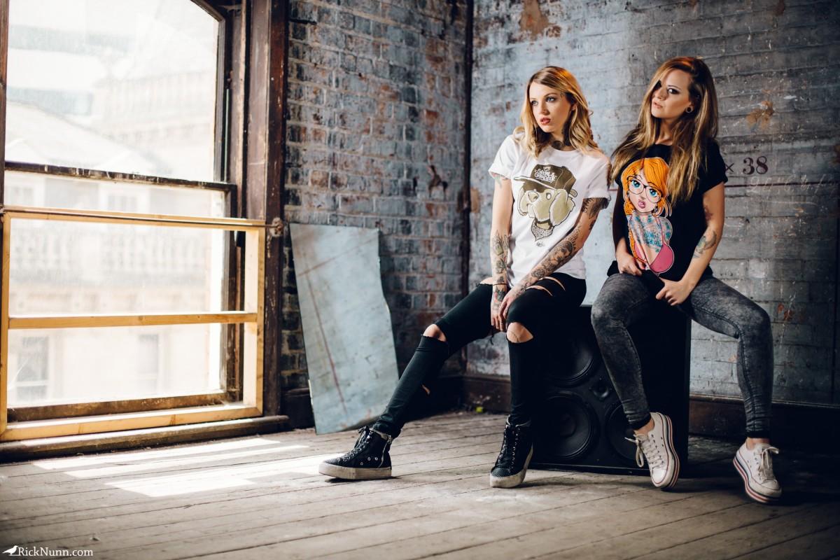 Growl & Grandeur — Summer 2015 Lookbook - RL4B8023 - Growl & Grandeur Summer 2015 Lookbook With Natasha Kalashnikova AK4790 And Courtney Lloyd Photographed by Rick Nunn
