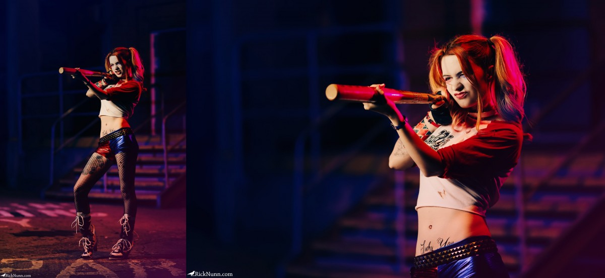 Harley Quinn Cosplay — I'm Bored, Play With Me - a-year-of-cosplay-1-of-12-harley-quinn-8 Photographed by Rick Nunn