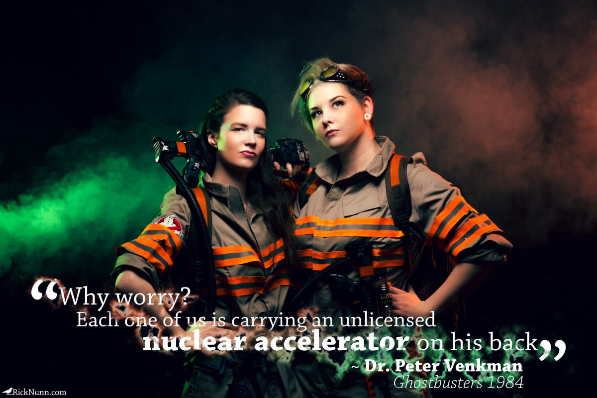 Ghostbusters Cosplay — Why Worry? - a-year-of-cosplay-2-of-12-ghostbusters-cosplay-1-quoto Photographed by Rick Nunn