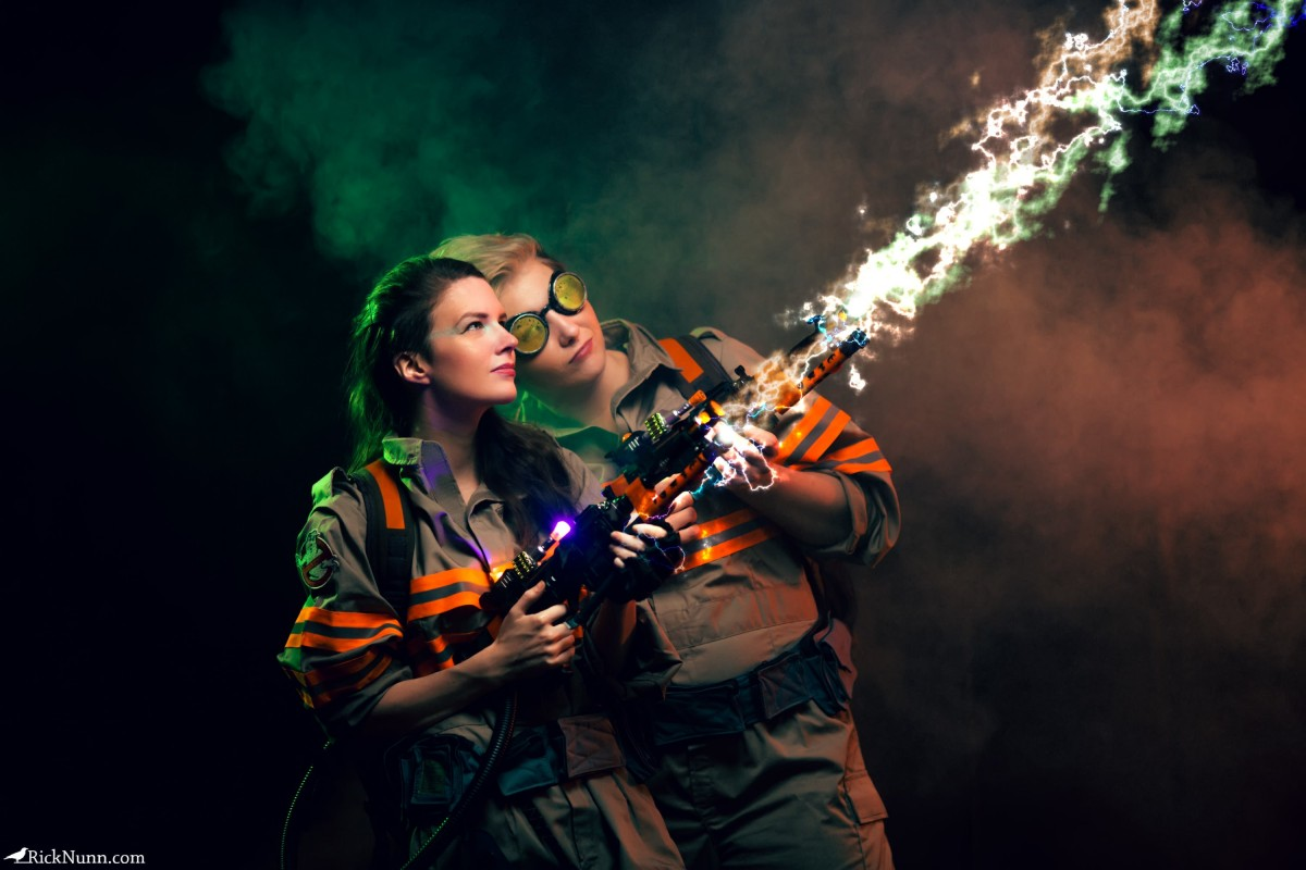 Ghostbusters Cosplay — Why Worry? - a-year-of-cosplay-2-of-12-ghostbusters-cosplay-2 Photographed by Rick Nunn